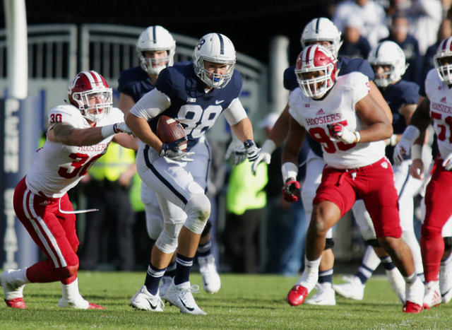 Penn State Football: Franklin Gives No Real Update On Gesicki